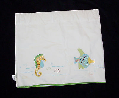Pottery Barn Kids Boys Sea Ocean Critters Window Valance Seahorse Octopus Crab