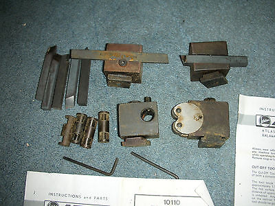 New Old Stock Atlas Craftsman 6 Inch Lathe #10110 Tool Block Set+Papers Rare