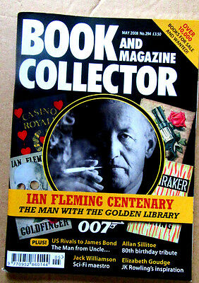Scarce Book And Magazine Collector 294 Ian Fleming Centenary May 2008 Pristine