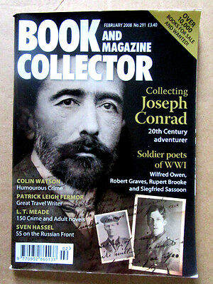 Scarce Book And Magazine Collector 291 Soldier Poets February 2008 Pristine