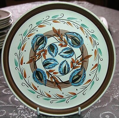 Bourne Denby Glyn Colledge Plate Studio Art Pottery - Free Post