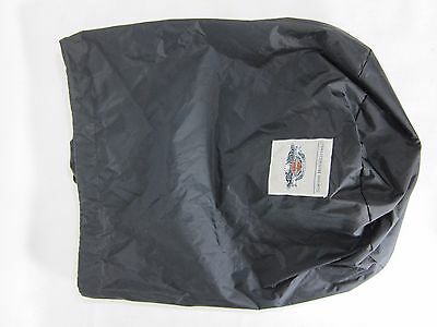 Harley Davidson Black Draw String Bag Mildly Used Nice Small Logo