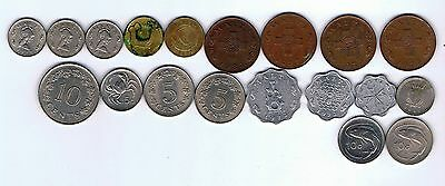 19 different coins from Malta : 1972 - 1991