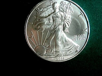 2011 1 oz. American Silver Eagle UNCIRCULATED ! ONLY 50 AVAILABLE !!!