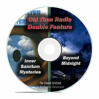 Beyond Midnight & Inner Sanctum Mysteries, 308 FULL RUN SHOWS, OTR DVD F75