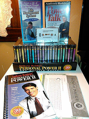 NEW Tony Anthony Robbins PERSONAL POWER II The Driving Force Complete  Set