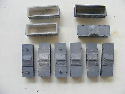 N Scale Set Of 10 Pilbara Ore Hopper Custom Cast Seconds