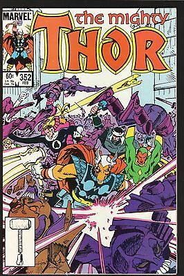 The Mighty Thor #352 (1st series)--Ragnarok and Ruin!--1985