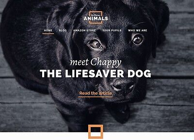 Animal Life Products Store - Established Affiliate Website Business