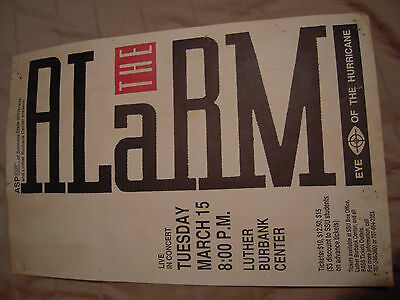 The alarm poster from late 1980s