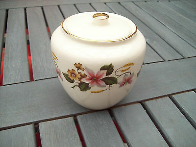 Vintage CROWN DEVON S.Fielding & Co Ginger Jar (Staffordshire, England)
