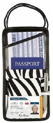 Travelon ID and Boarding Pass Holder , One Size, Zebra