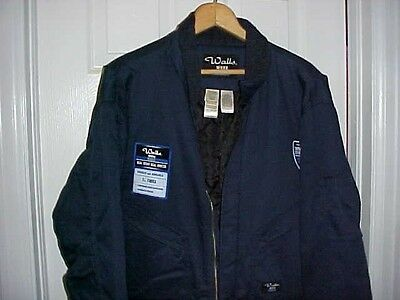 NWT Walls Work Wear Insulated Coveralls 7 oz Twill  Men Blue Large  Regular