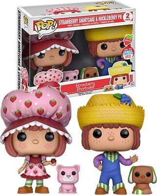 Scented Exclusive Funko POP! Vinyl 2 Pack Strawberry Shortcake & Huckleberry Pie