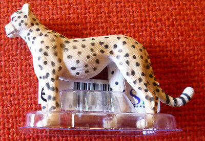 ZOO ANIMAL REPLICAS Cheetah Small Replica - Size approx 7 cm long by 5 cm high