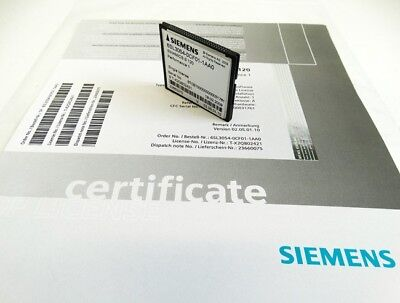Siemens Sinamics S 120 6SL3054-0CF01-1AA0 Compact Flash Single License -unused-