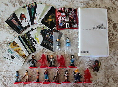 Wholesale Lots Final Fantasy Figure Cards Coca Cola VHS Stationary VII VIII