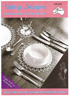 NEW Tatting Desings: Household, Linens and Personal Wear by Vicki Moodie