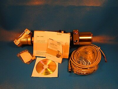 BURKERT 8802, 8692 Controller, 2300 A, 40N SS, 2/2 Angle Control Valve