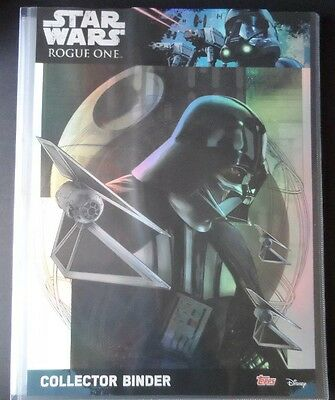 Topps Star Wars Rogue One Complete Set 212 Cards + Binder + 5 Ltd,brand New.