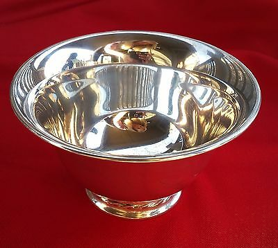 Towle Silver Flutes Sterling Silver Revere Style Serving Bowl 100 grams # 120