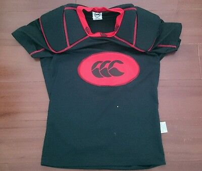 Canterbury Rugby Shoulder Armour,  Size Large. Good Condition.