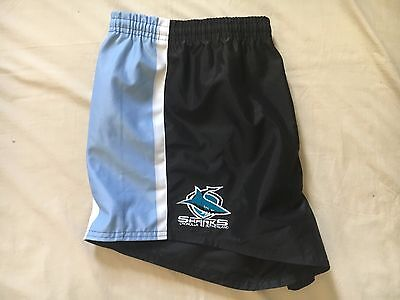 Crounlla Sharks Nrl Men's Supporters Shorts Size 3Xl Bnwt
