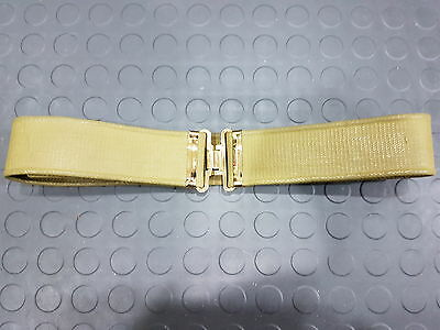 Canadian Army Web Belt, Brass Buckle & Keepers, Canada, WW II, WW 2