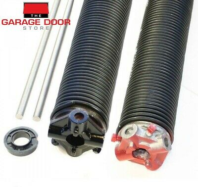 GARAGE DOOR TORSION SPRING KIT DOUBLE CAR PANEL LIFT 2.2-2.5m (H) x 4.9-5.5m (W)