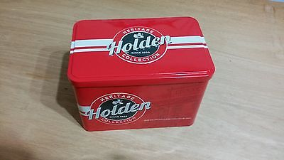 Holden Heritage 50 cent coin collection as issued 12 coins in tin