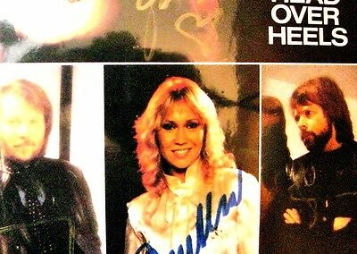 Abba Head over Heels signed by all four