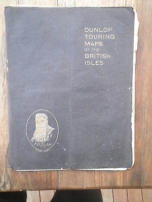 Dunlop Touring Maps of the British Isles three shillings gas petrol station map