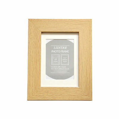 Oak 5x7 Wide WOOD finish Photo Picture Frame 40mm wide
