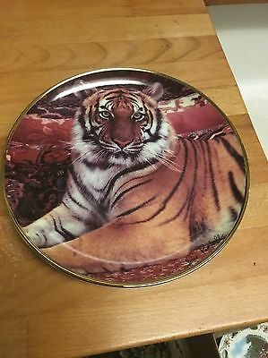 Franklin Mint The Imperial Tiger Plate