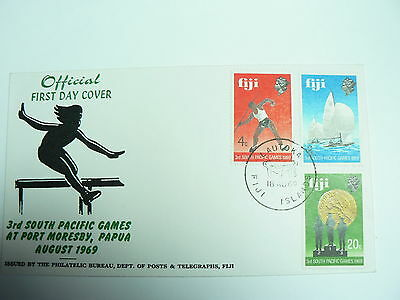 Fiji First Day Cover 3rd South Pacific Games