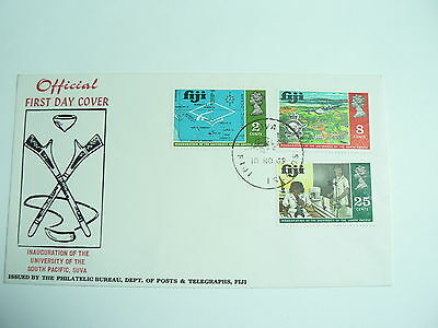 Fiji First Day Cover Inauguration of the University of the South Pacific
