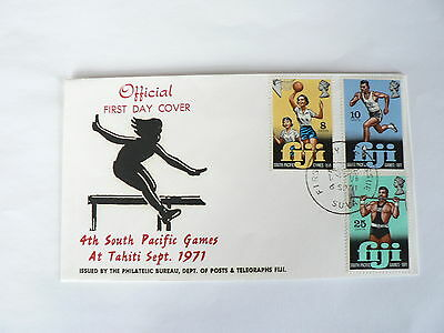 Fiji First Day Cover 4th South Pacific Games