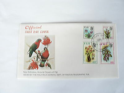 Fiji First Day Cover  New Definitive Stamps