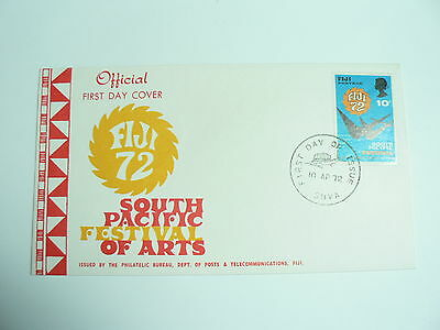 Fiji First Day Cover South Pacific Festival of Arts