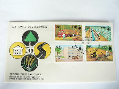 Fiji First Day Cover  National Development