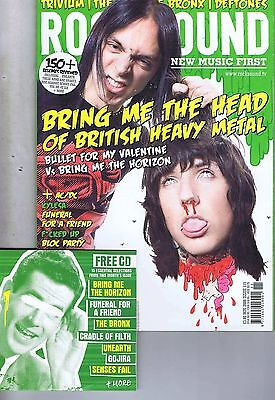 BULLET FOR MY VALENTINE / BRING ME THE HORIZON Rock Sound + CD no. 115 Nov 2008