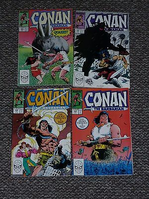 Cona the Barbarian (Marvel) Issues 206, 208, 209 & 210 - 4 Comics