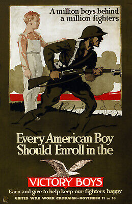 """1915 Canadian Forestry Battalion Recruiting Poster-Art Print 13/"""" x 19/"""""""
