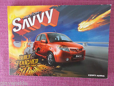 Proton Savvy Owners Manual - Owners Guide - Owners Handbook (Pr 3)