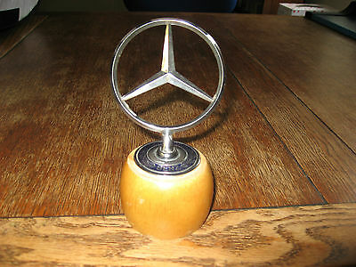 original vintage car mascot for Mercedes Benz