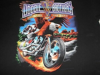 DOOBIE BROTHERS 27 YEARS on the ROAD T-Shirt Size Extra Large XL