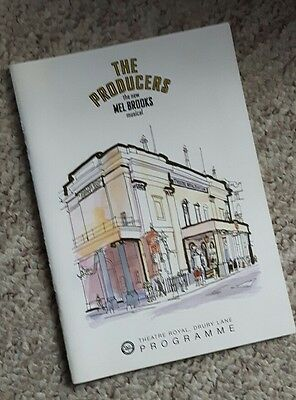 The Producers theatre programme
