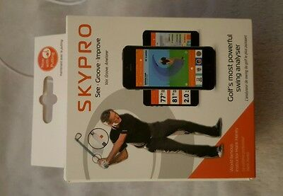 Skycaddie Skypro Swing Analyser trying aid