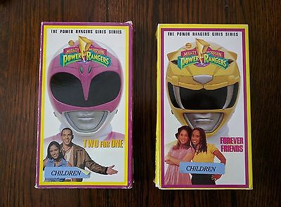 The Power Rangers Girls Series VHS - Two for One / Forever Friends - Tested