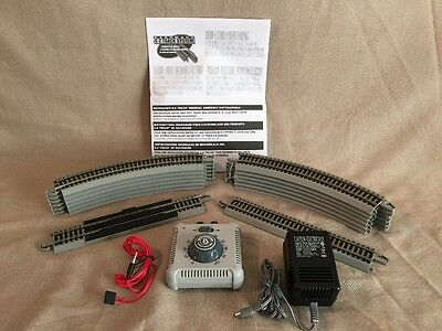 Bachmann Speed Controller 46605a w/ Power Supply  & 14 Section of EZ Track